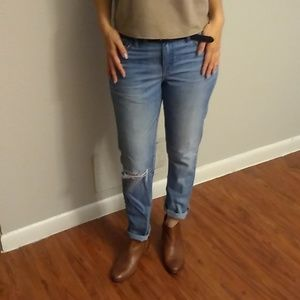 J Crew Slim Broken-in Boyfriend Jeans